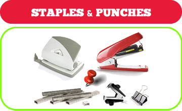 Staples and punches