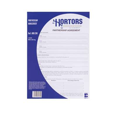 Hortors Legal Forms HOR206(E)