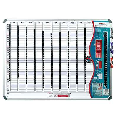 Parrot Magnetic Whiteboard Year Planner