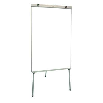 Whiteboard & Flip Chart Stand, 640x1000mm, Magnetic Surface